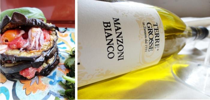 Parmigiana Marina e Manzoni Bianco