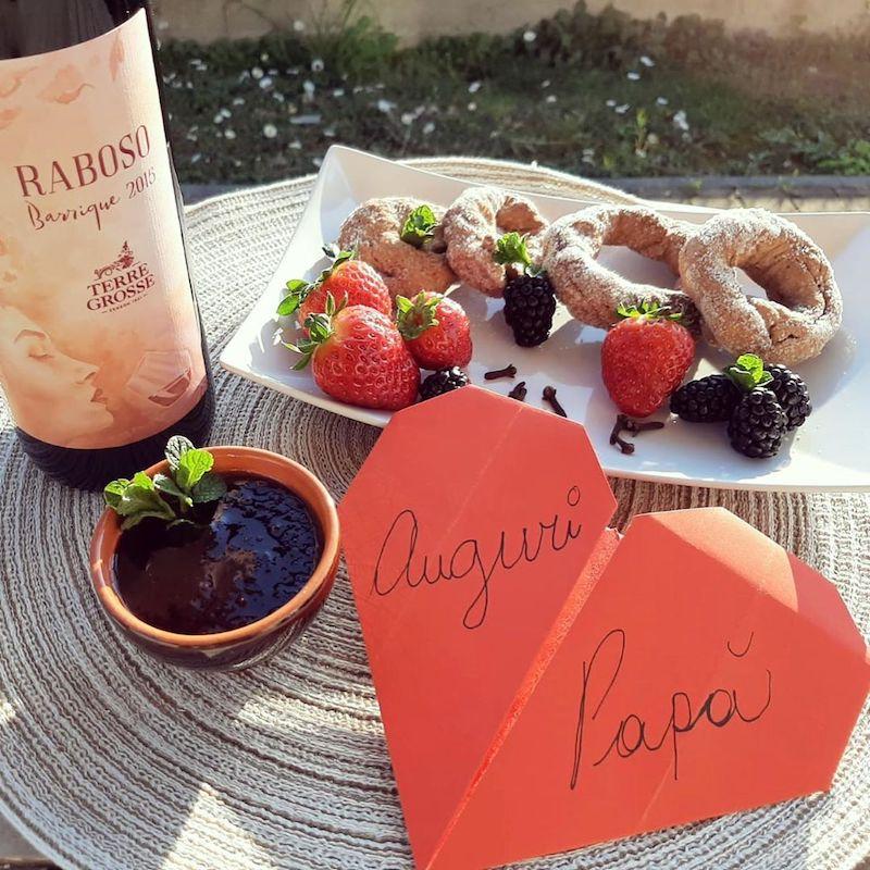 Ciambelline al vino Raboso